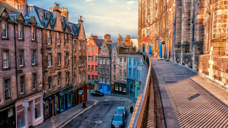 West Bow, Edinburgh, Schottland