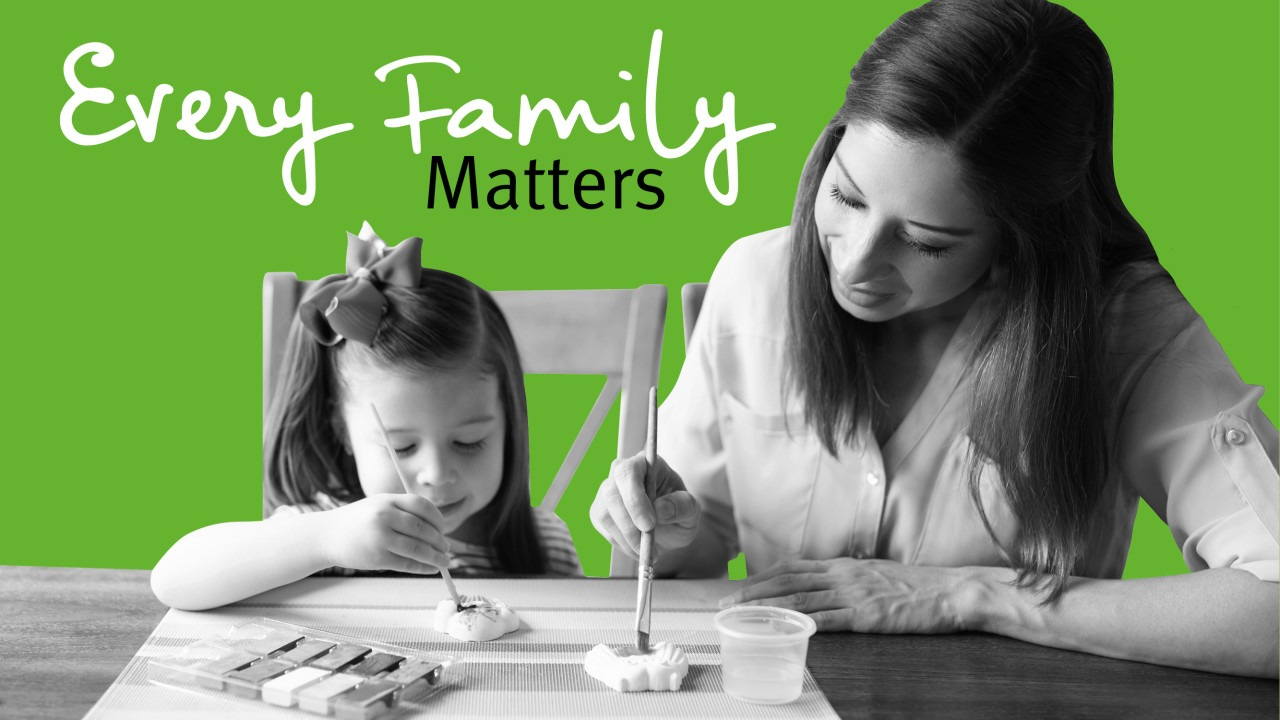 Every Family Matters this Children's Art Week