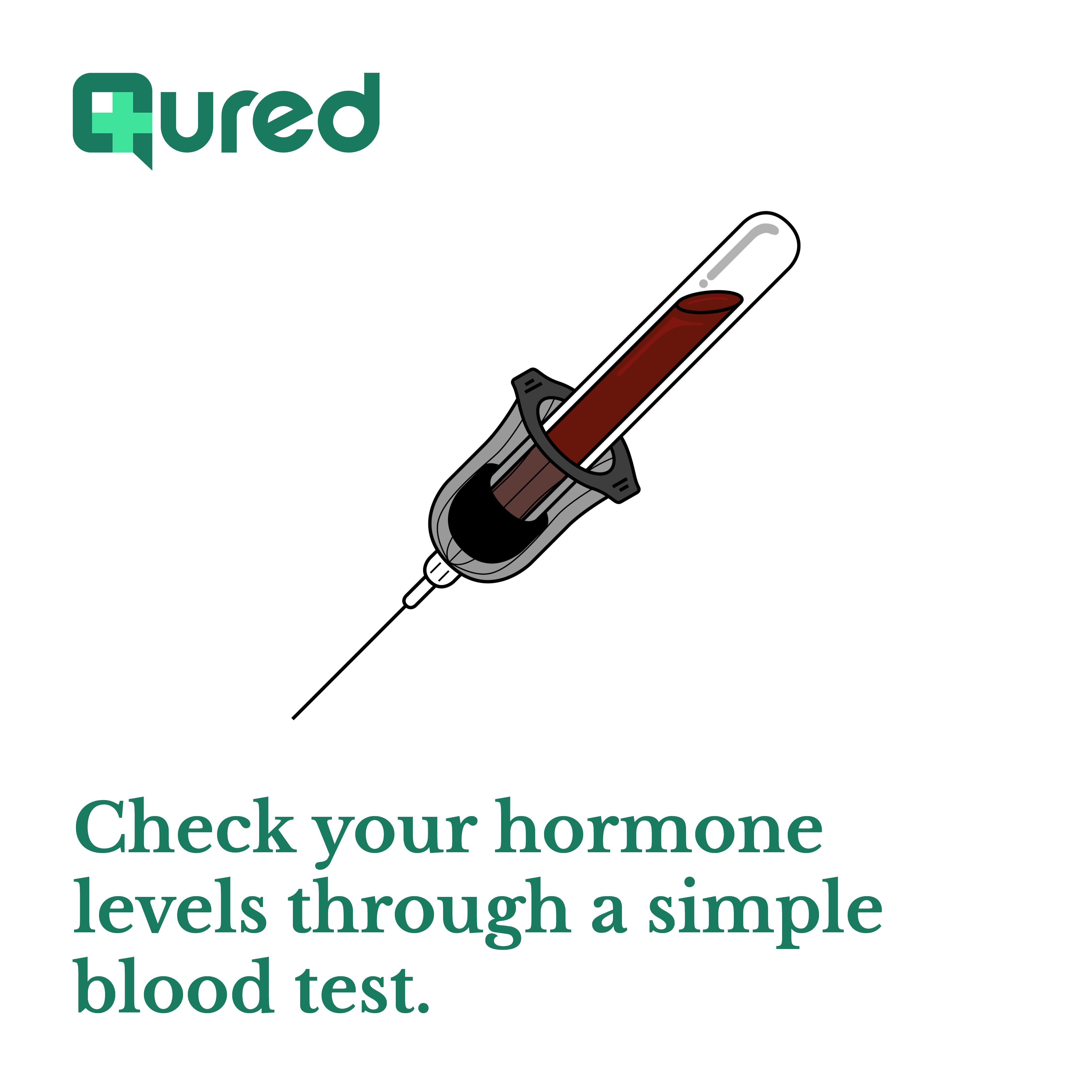 Qured blood tests