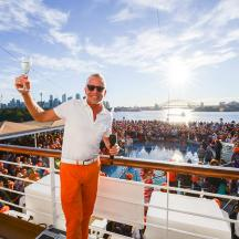 Dave Koz on his cruise