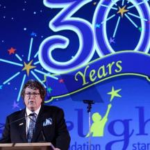 Robert Shiffman onstage at the 20 years Starlight Gala