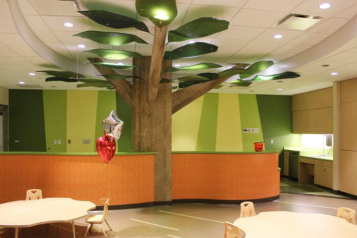 Treehouse Starlight Space Playroom at Memorial Hermann Hospital