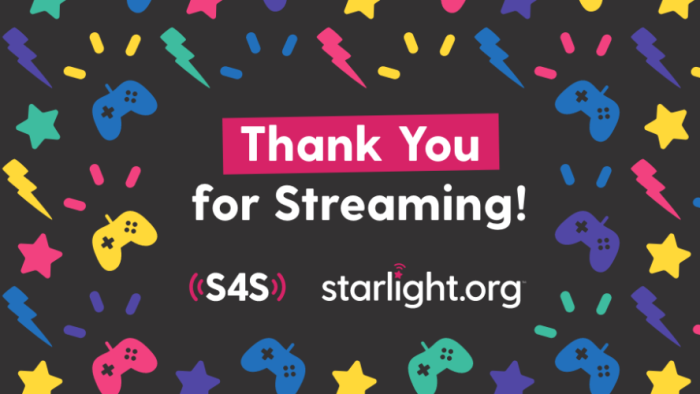 Stream For Starlight Thank You