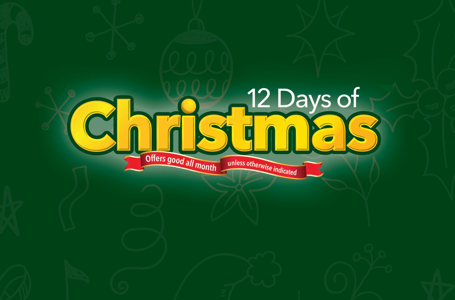 12 Days of Christmas Promotions
