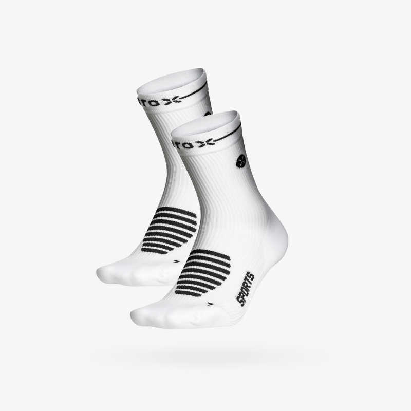 Ankle Socks Unisex White_Black 1