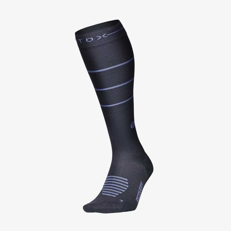 Recovery Socks Men - Grey / Blue - F