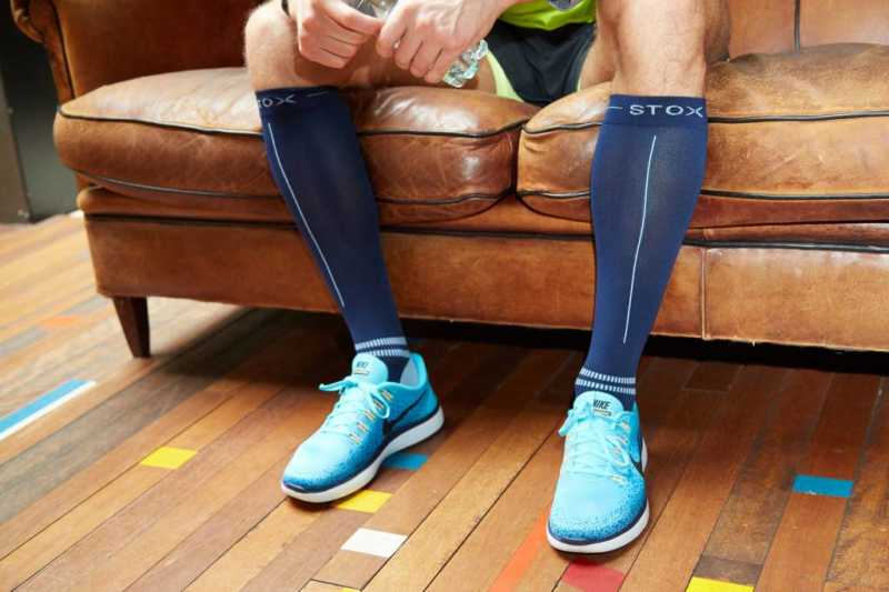 Do you put on the STOX Energy Socks the right way?