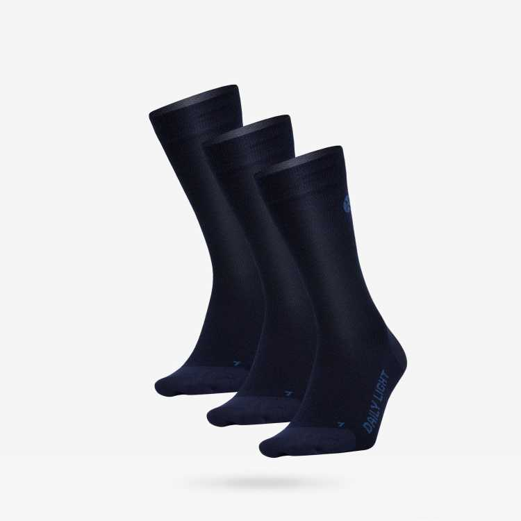 Daily Light - Men - Dark Blue / Blue - three pack