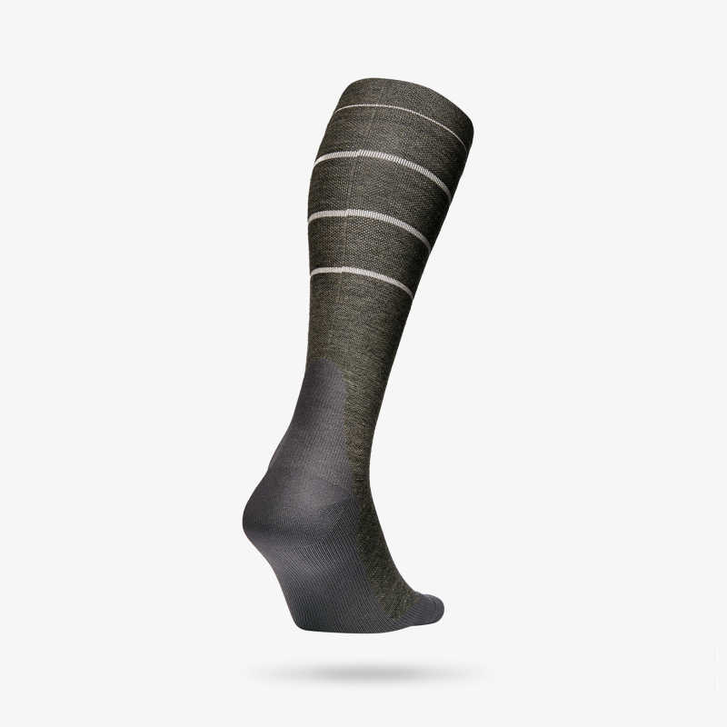 Outdoor Socks Men - Green / Beige
