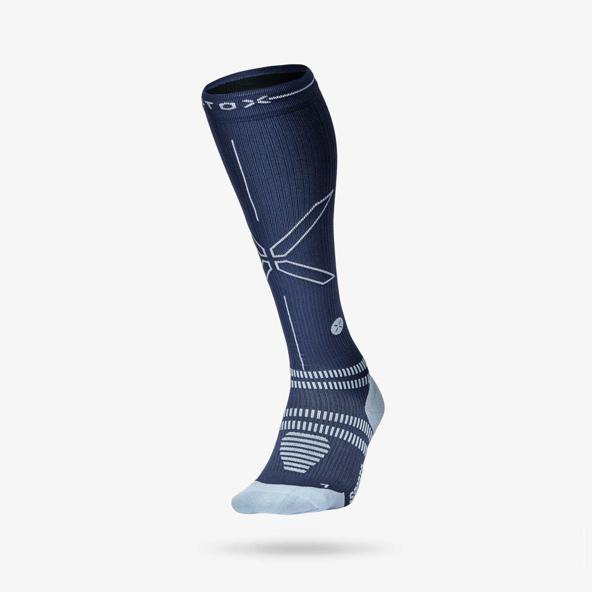 Sports Socks Women - Blue / Light Blue