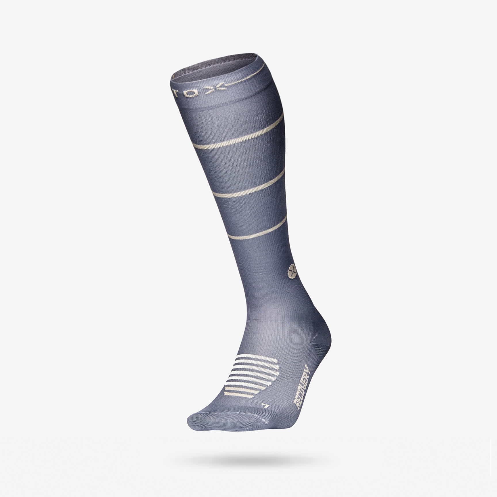 Recovery Socks women grey beige