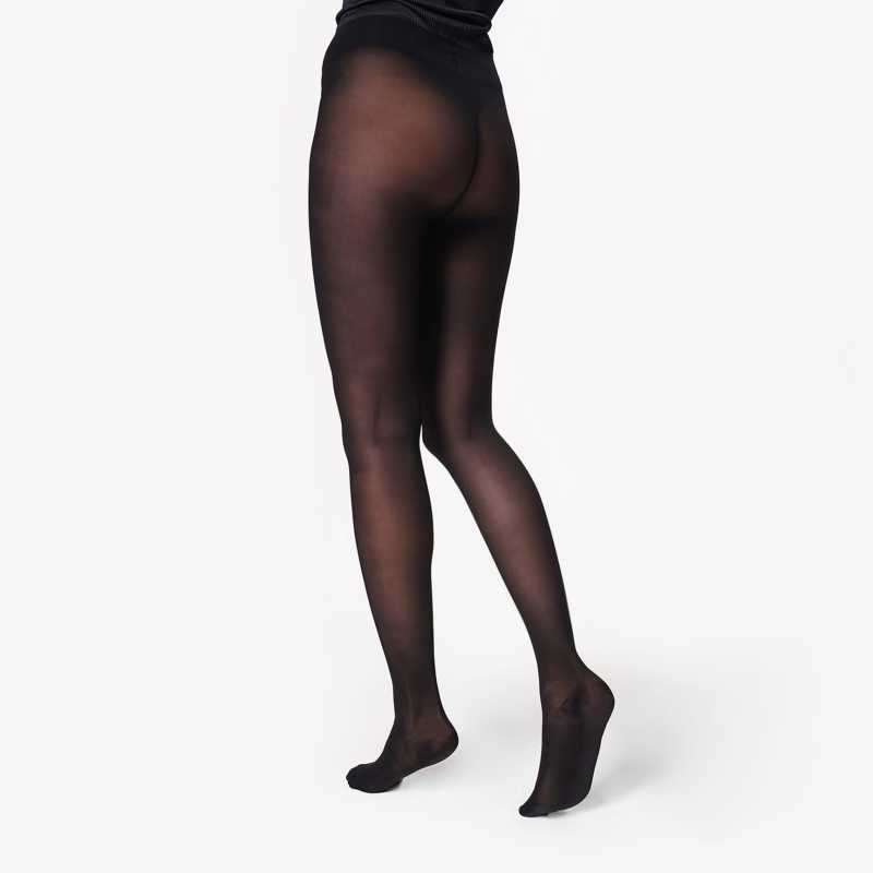 Pantyhose Women Black 1-min