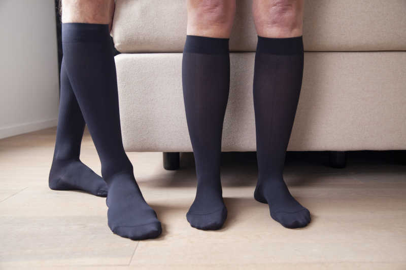 compression socks reduce the risk of varicose veins