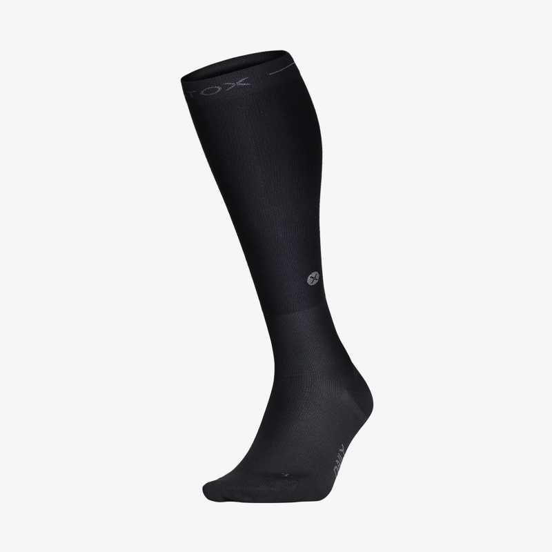 Daily Socks - Black - F