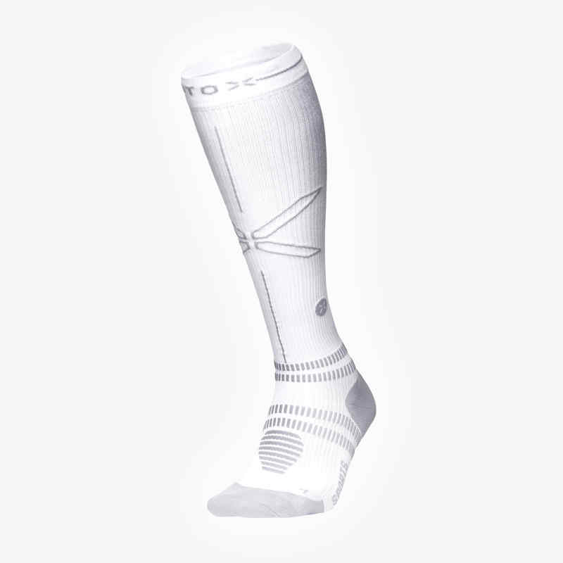Sports Socks Women - White/Grey - F
