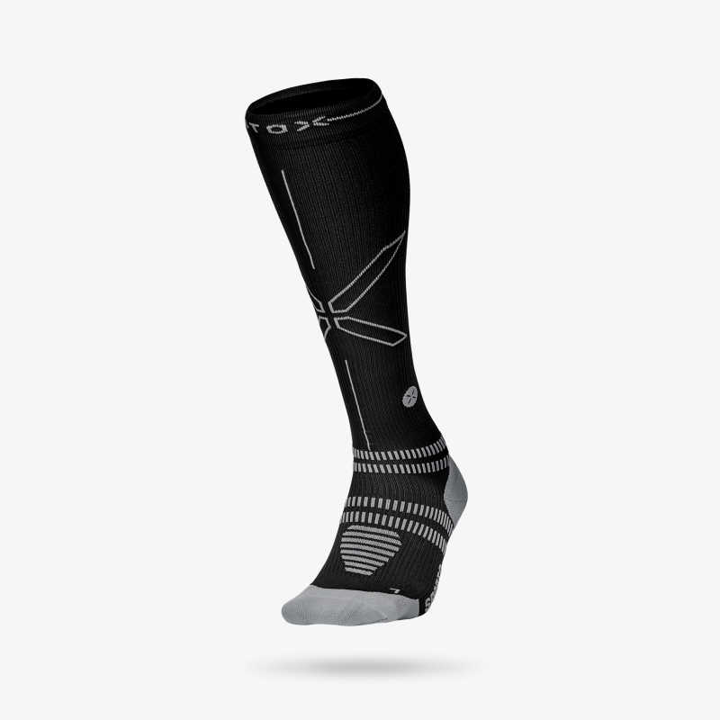 Sports Socks Men - Black Grey