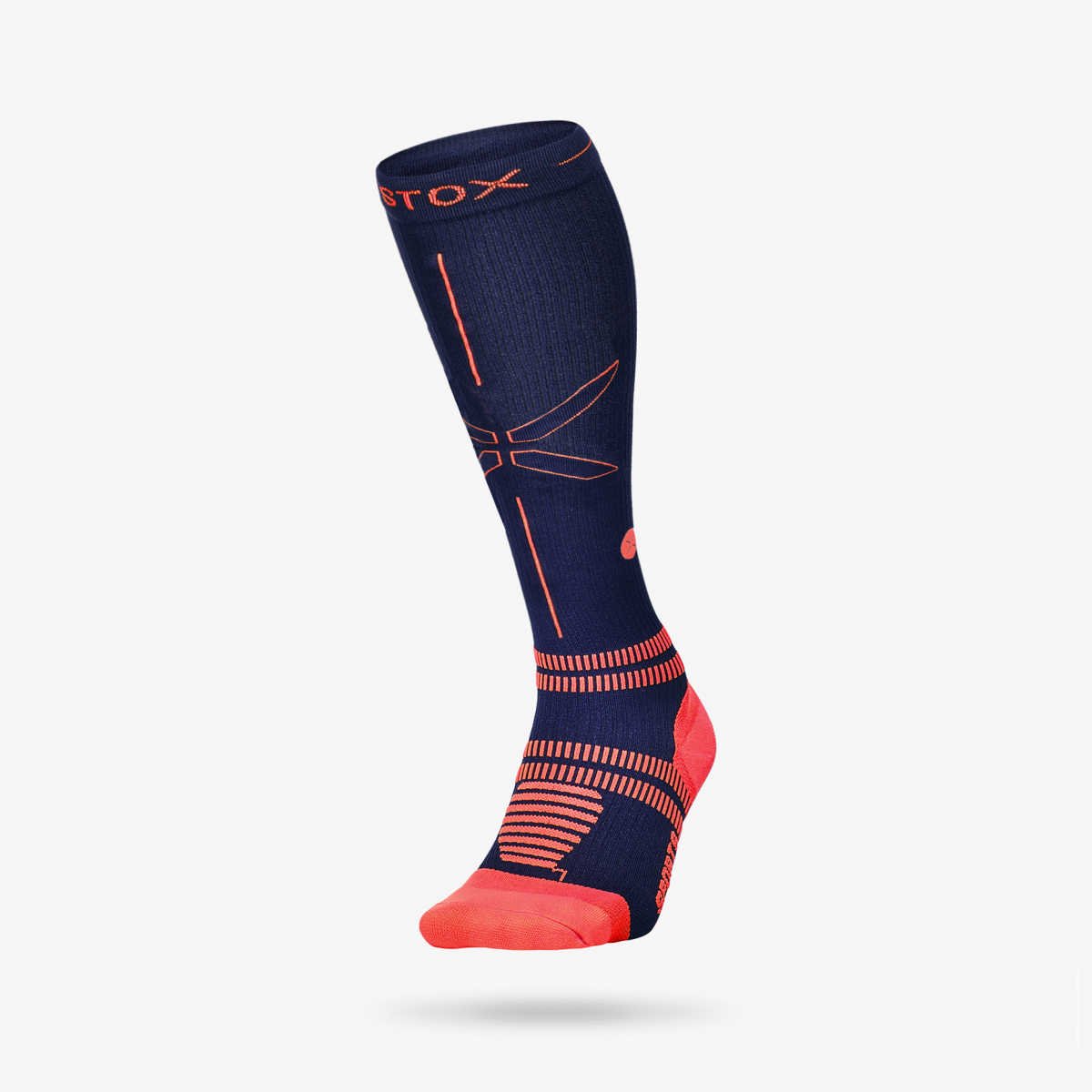 Sports Socks Men- Blue Orange