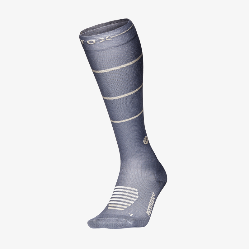 Recovery Socks Women - Grey / Beige - F