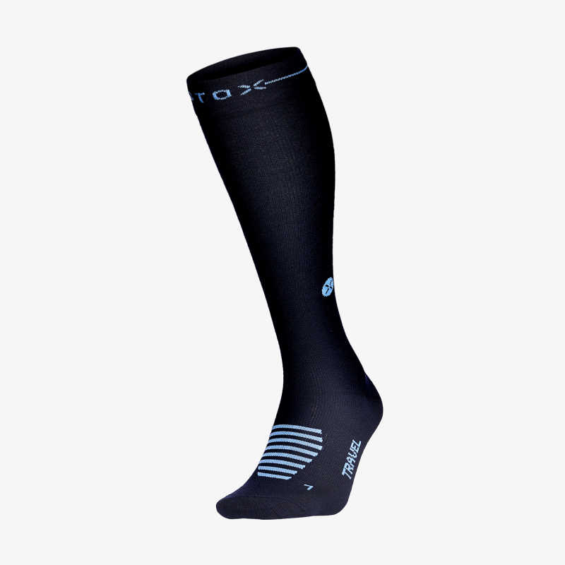 Travel Socks Women Navy_Blue F
