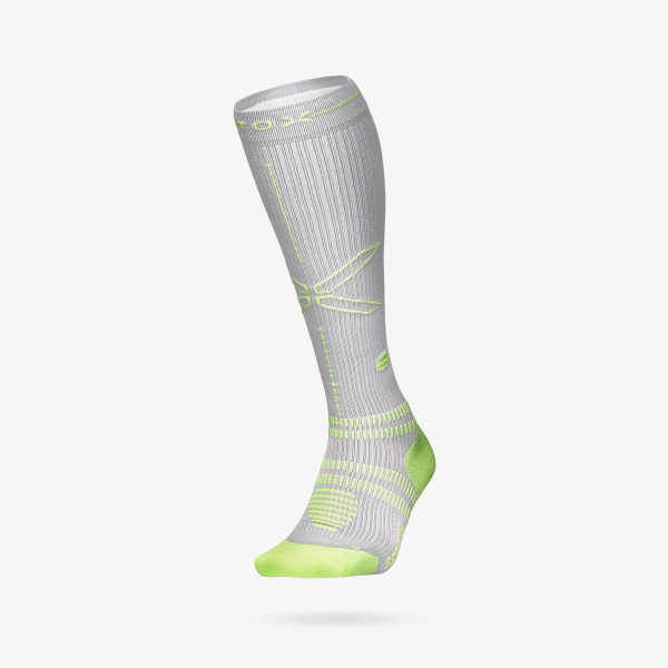 Sports Socks Men- Silver Yellow