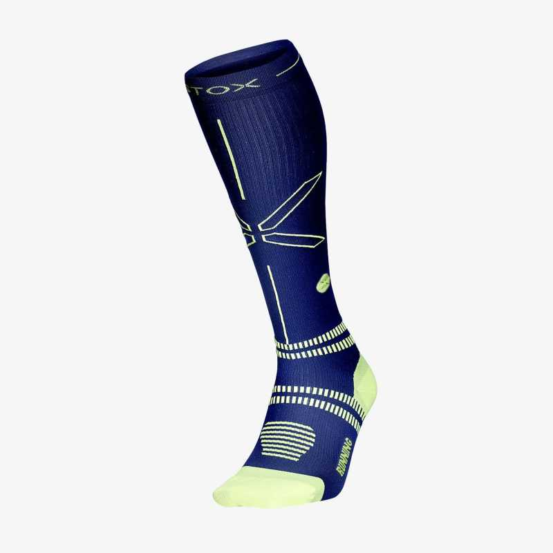 Thumbnail running socks men dark blue