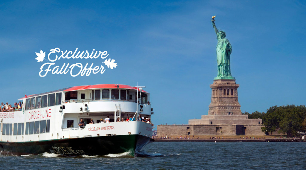 statue of liberty express 1 hour cruise offering incredible views