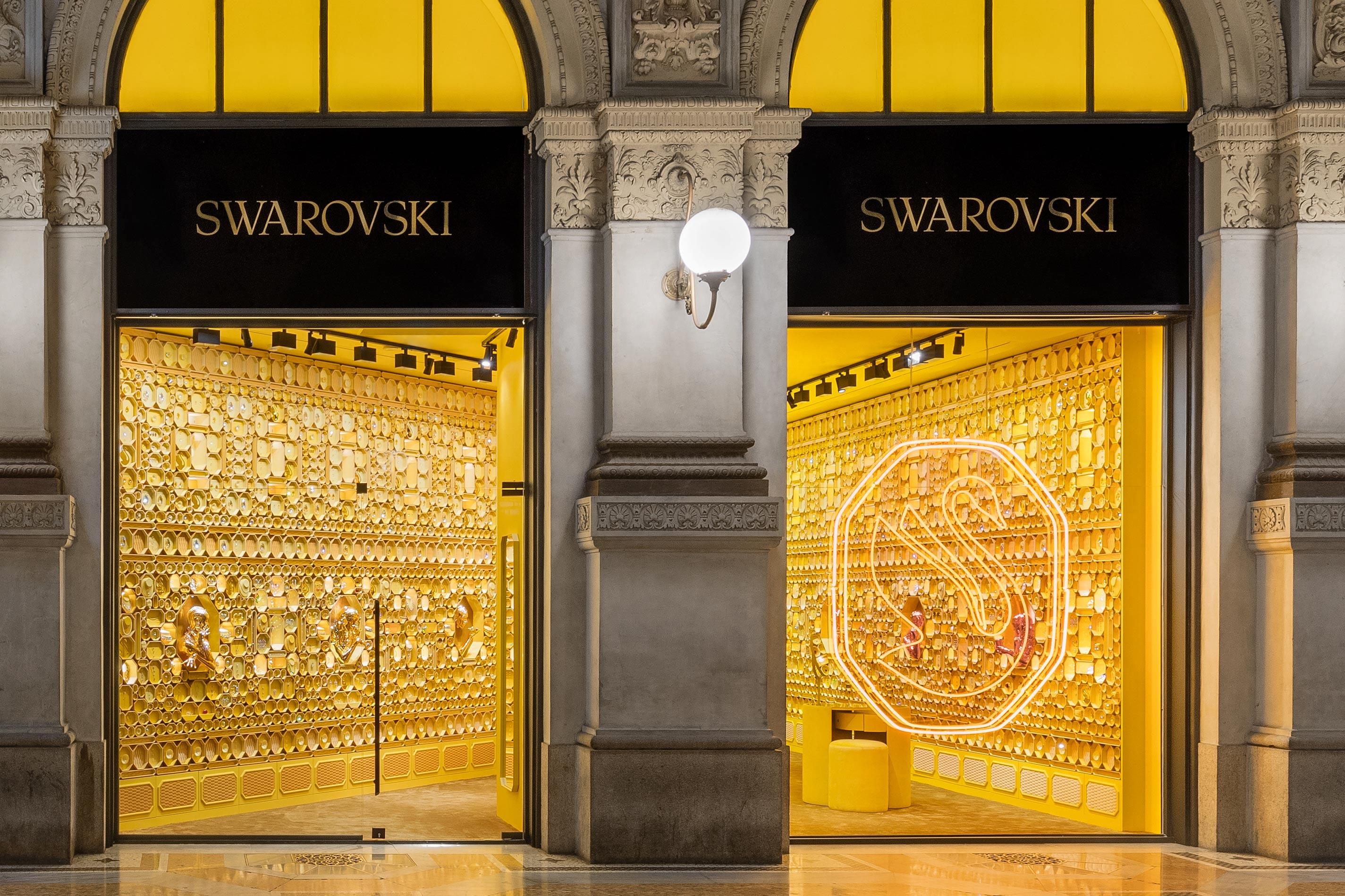 Swarovski Branding