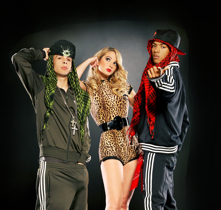 N-Dubz group photo