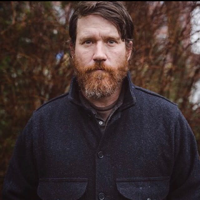 Chuck Ragan portrait outside