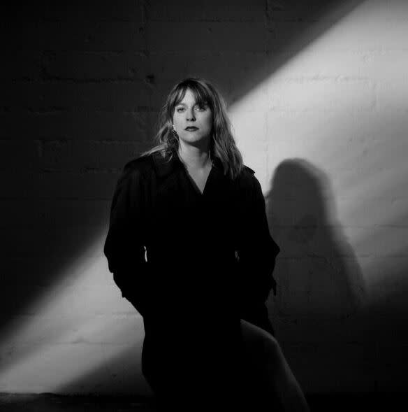 Susanne Sundfør black and white portrait