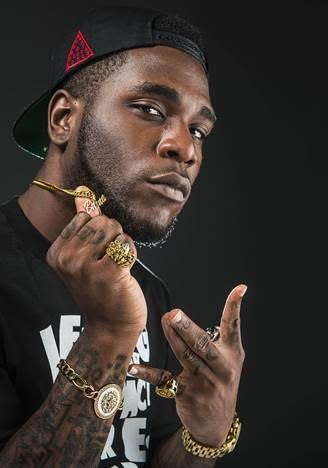Burna Boy portrait