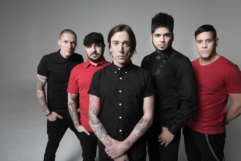 Billy Talent band photo