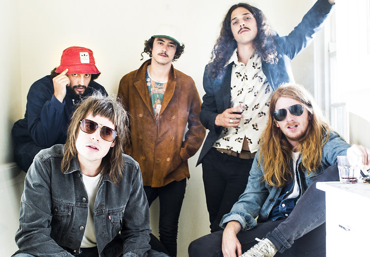 Sticky Fingers band photo