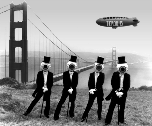 The Residents at golden gate bridge