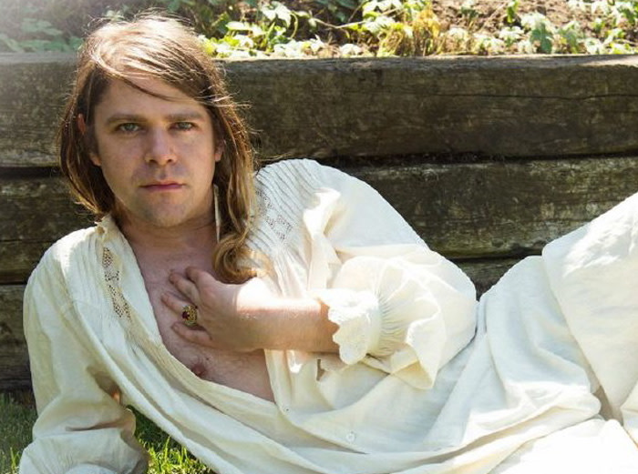 Ariel Pink portrait photo