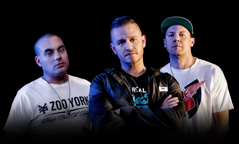 Hilltop Hoods group photo
