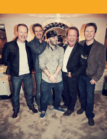 Level 42 band photo