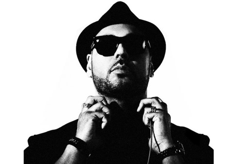 Roger Sanchez black and white headshot