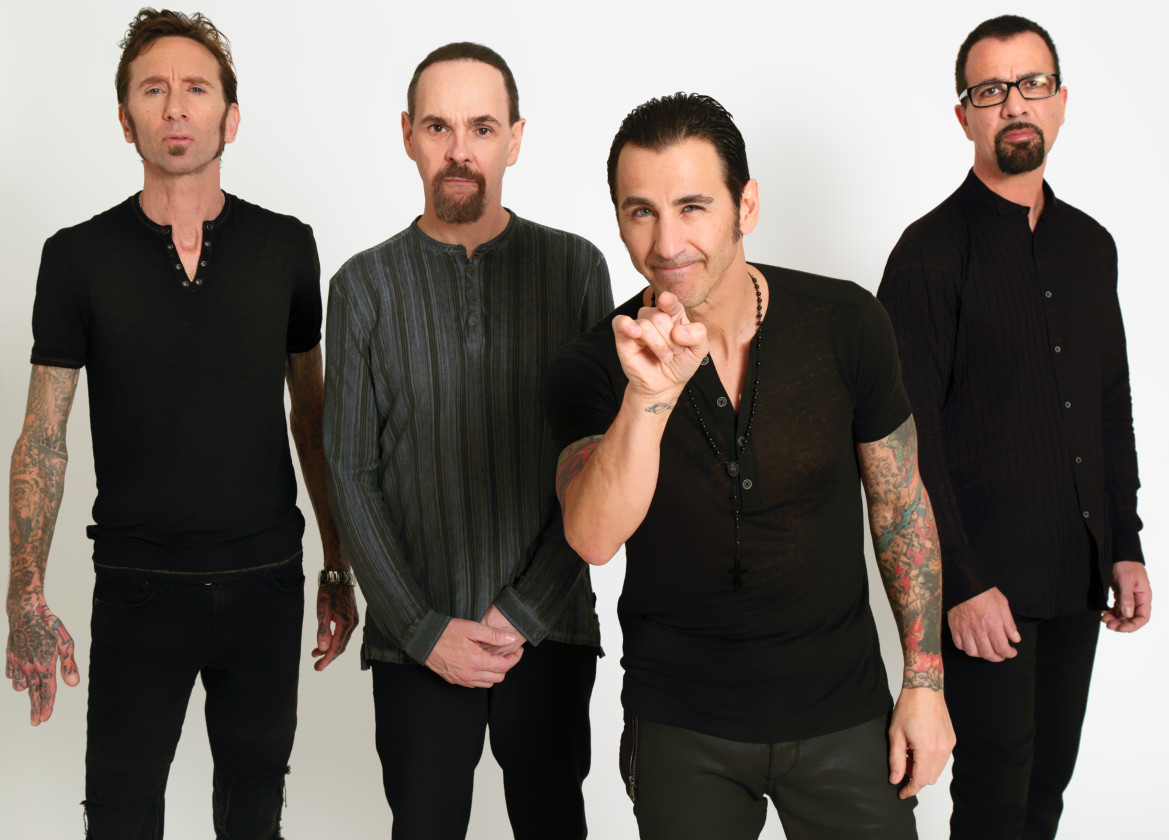 Godsmack band portrait