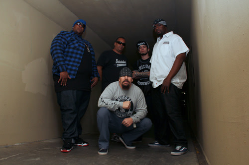 Suicidal Tendencies band portrait