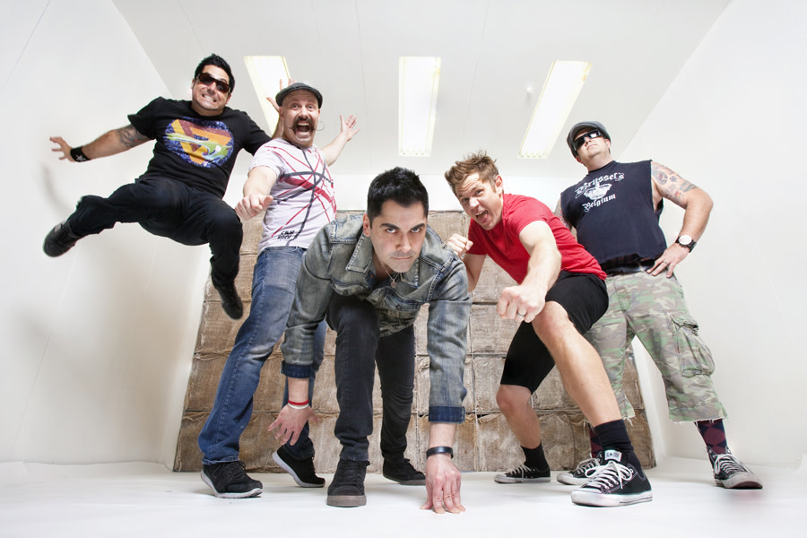 Zebrahead group portrait