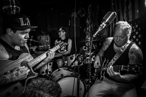 Sublime with Rome black and white photo