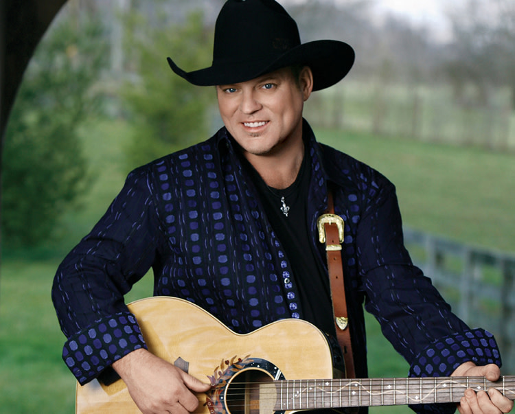 John Michael Montgomery portrait with guitar