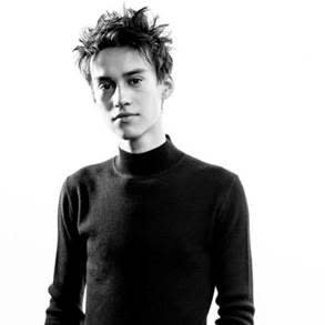 Jacob Collier black and white photo
