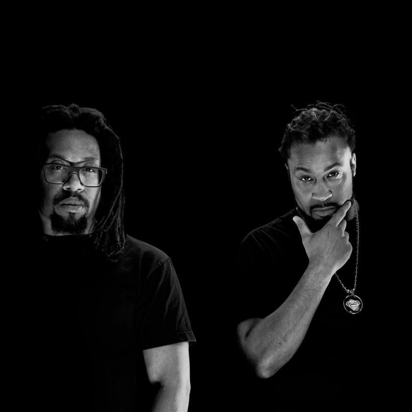 Mr. Lif & The Perceptionists black and white photo