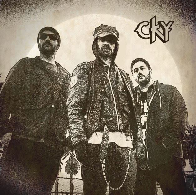 CKY black and white illustrated album cover