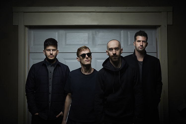 X Ambassadors group portrait