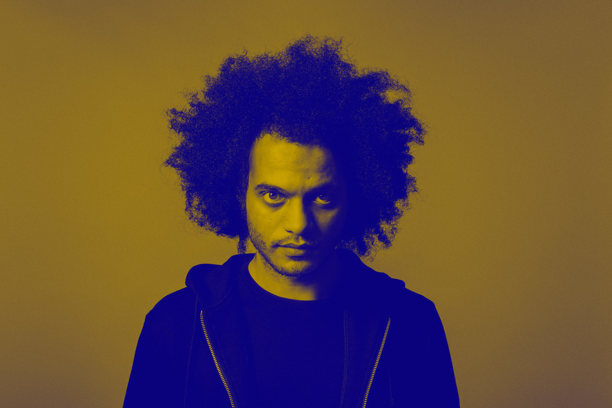 Zeal & Ardor photo with blue filter