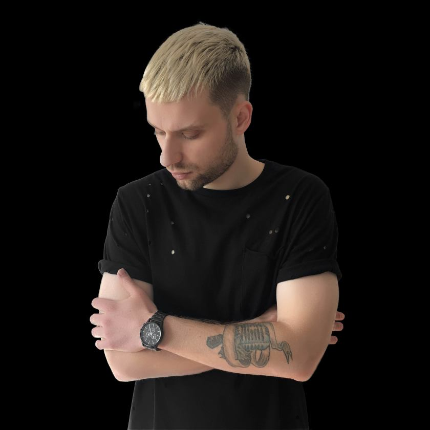 Sikdope headshot wearing black t-shirt