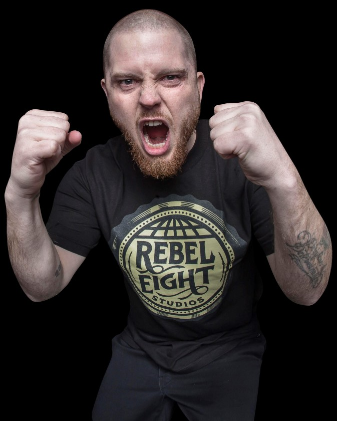 Jasta photo with fists up